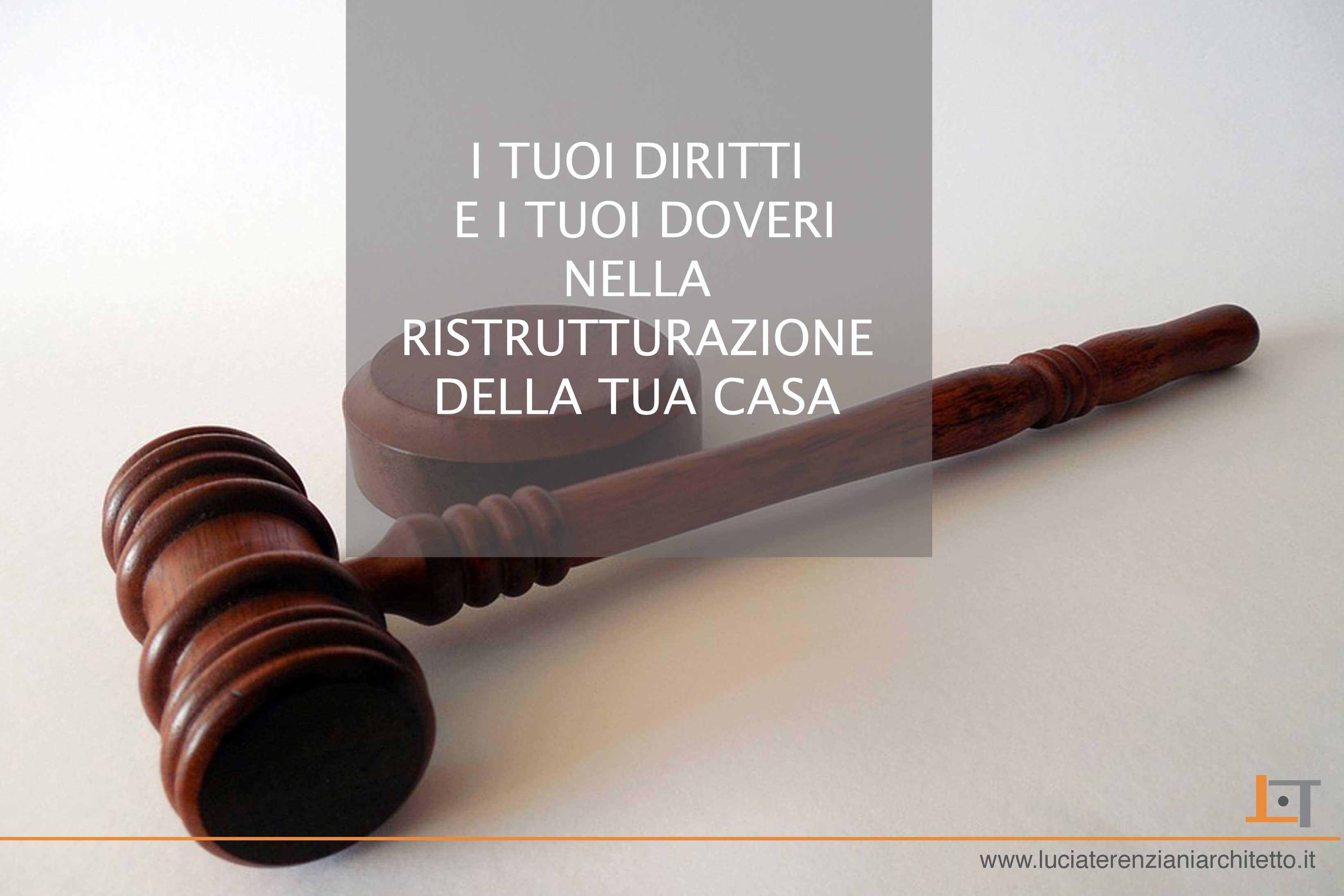 Ristrutturazione step 8 le regole del committente for Convivenza diritti e doveri